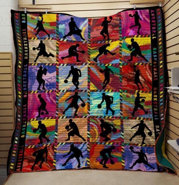 basketball do your best 3d customized quilt 0