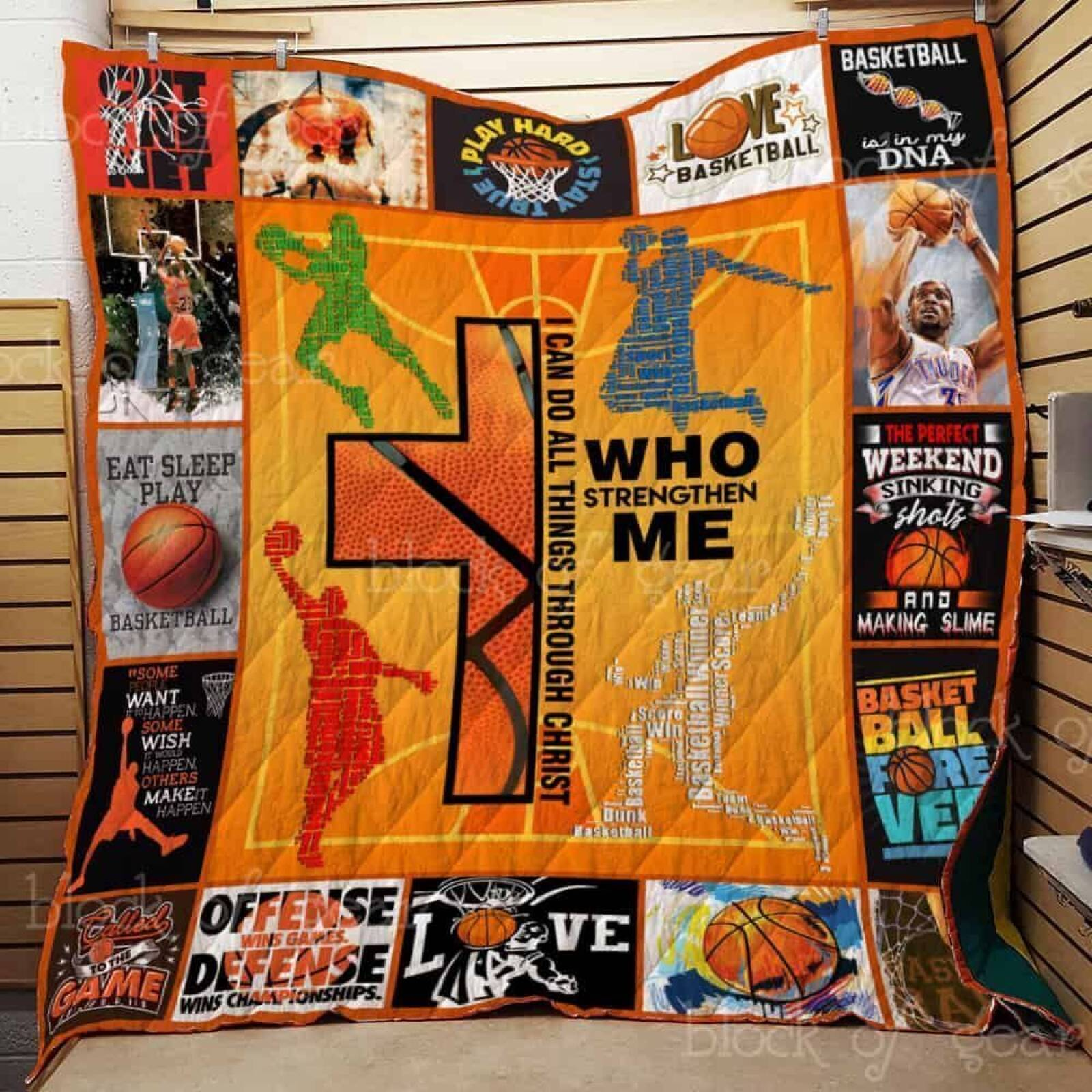 basketball forever jh1247 3d customized quilt 0