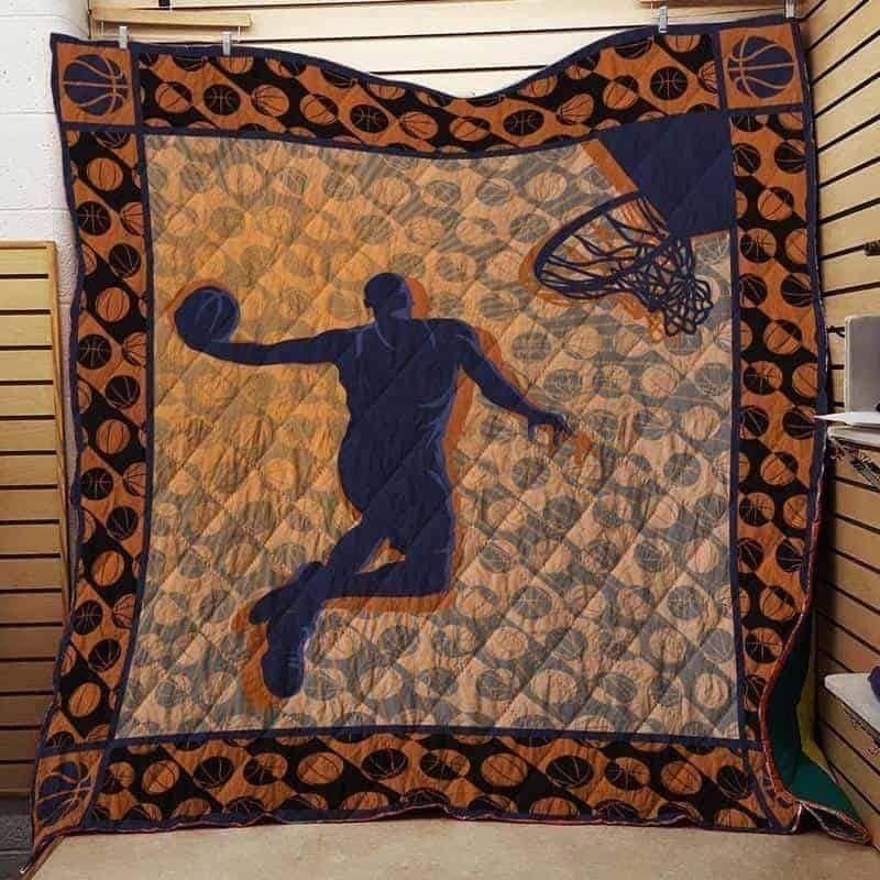 basketball isor511 3d customized quilt 0