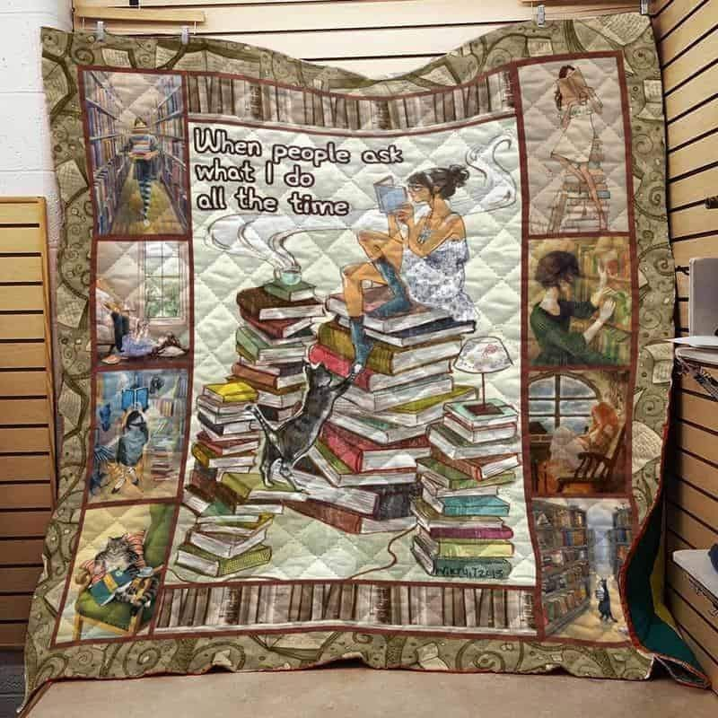 book isor560 3d customized quilt 0