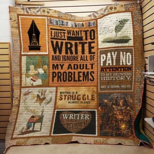 book writer love dmlt18 3d customized quilt 0