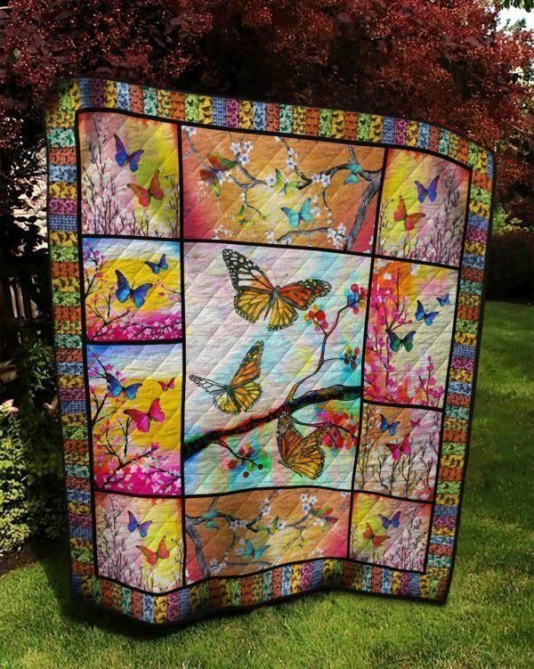Quilt Blanket/Butterfly Quilt