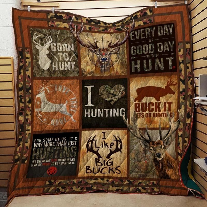 deer hunting sslt163 3d customized quilt 0