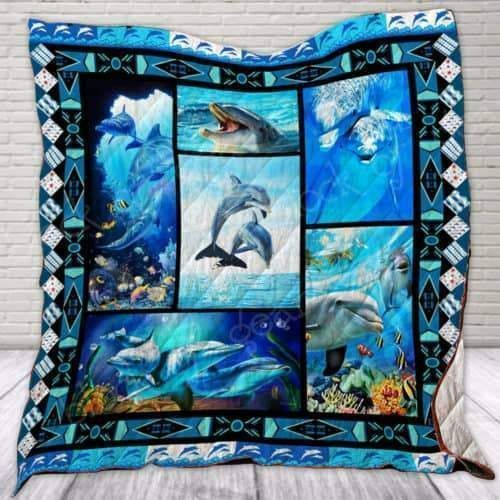 dolphin klts55 3d customized quilt 0