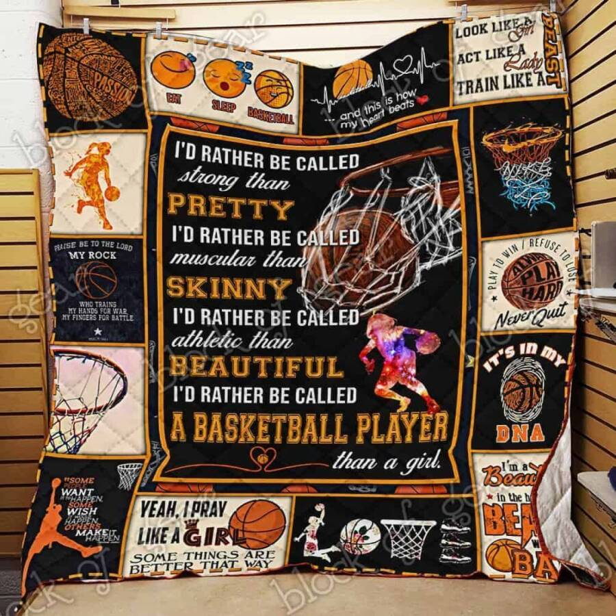 female basketball player jk1259 3d customized quilt 0