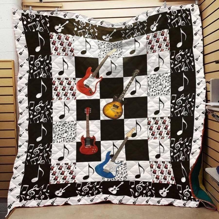 guitarist love dmlt37 3d customized quilt 0