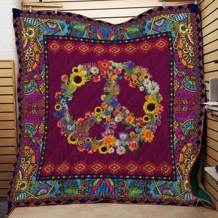 hippie sslt201 3d customized quilt 0