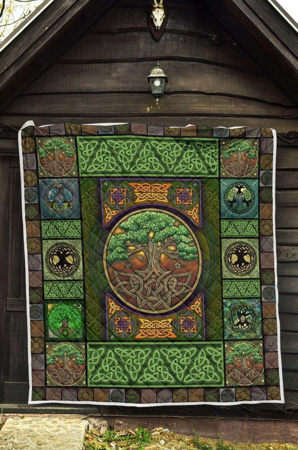 irish tree celtic ltk96 3d customized quilt 0