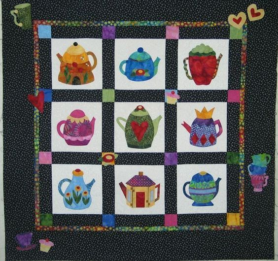 life is like a cup of tea hur6010 3d customized quilt camli2307 0