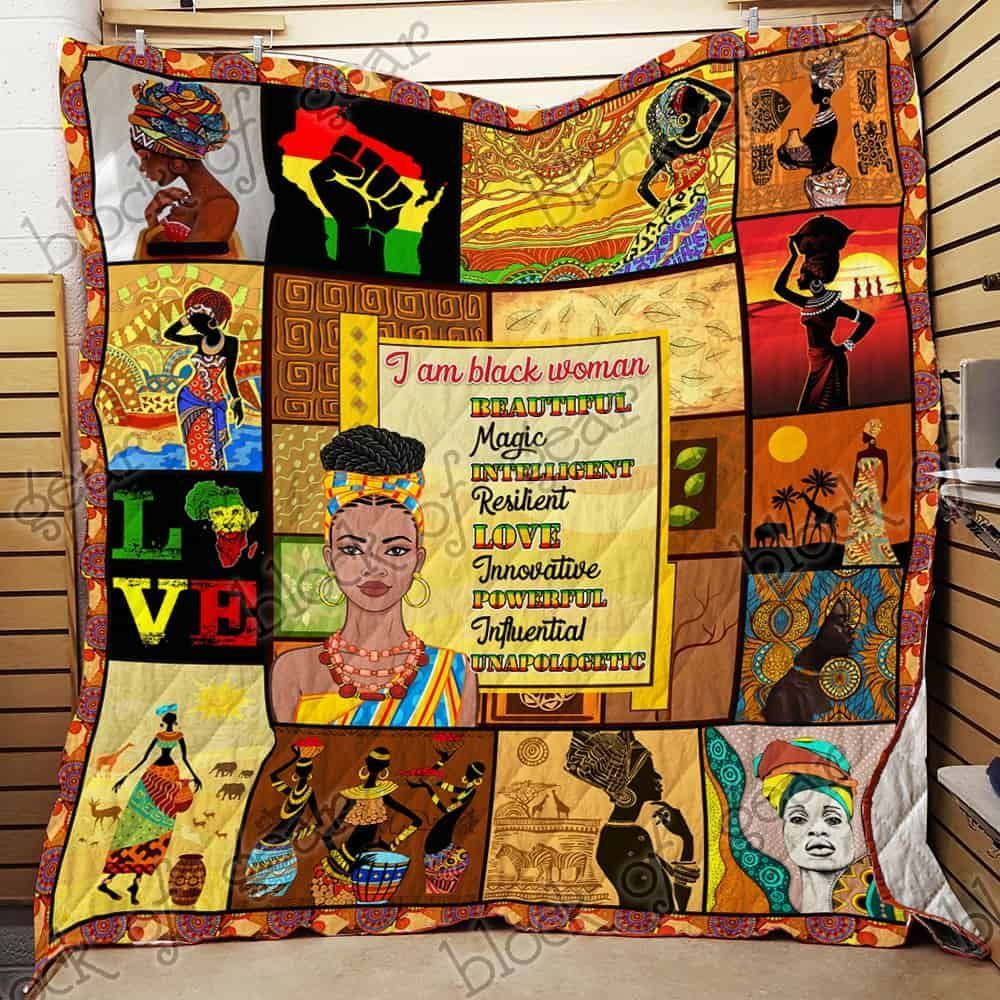 proud black woman hur38777 3d customized quilt camli2707 0