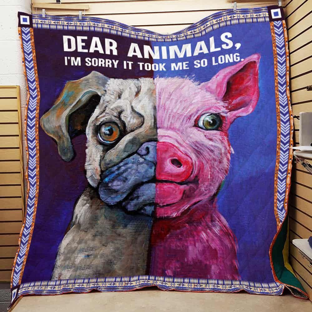 proud to be vegan jfj11563 3d customized quilt camli2707 0
