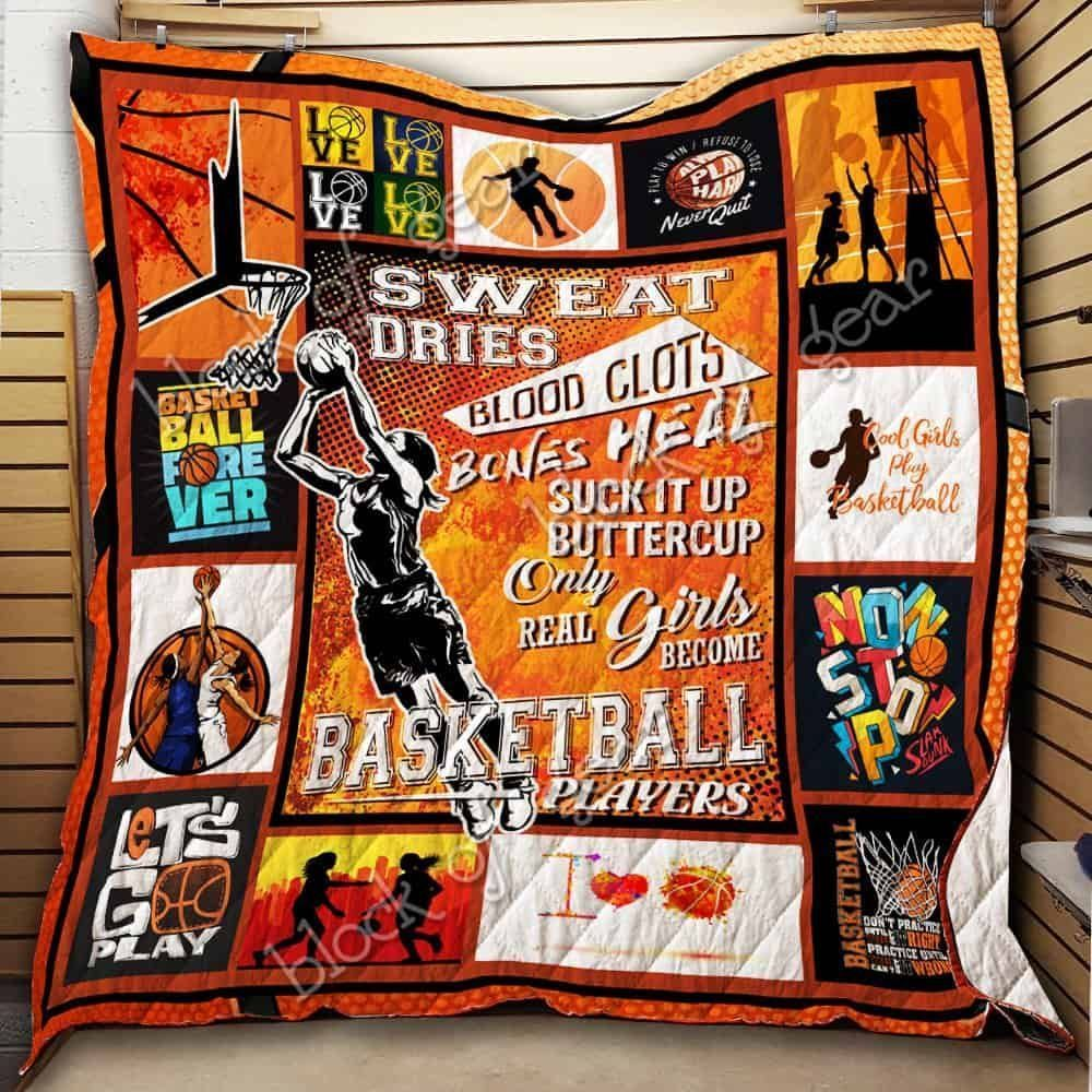 real girls become basketball players jh186 3d customized quilt 0