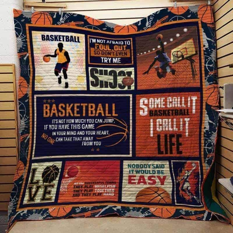 some call it basketball call it life 3d customized quilt 0