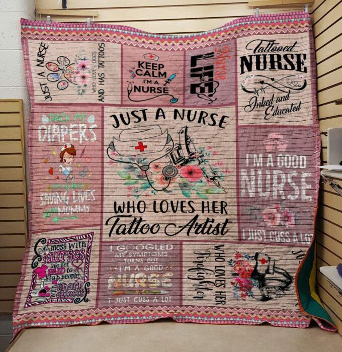 tattoo nurse hjbb269 3d customized quilt 0