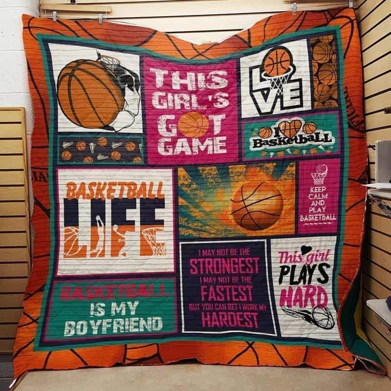 this girl s got game basketball 3d customized quilt 0