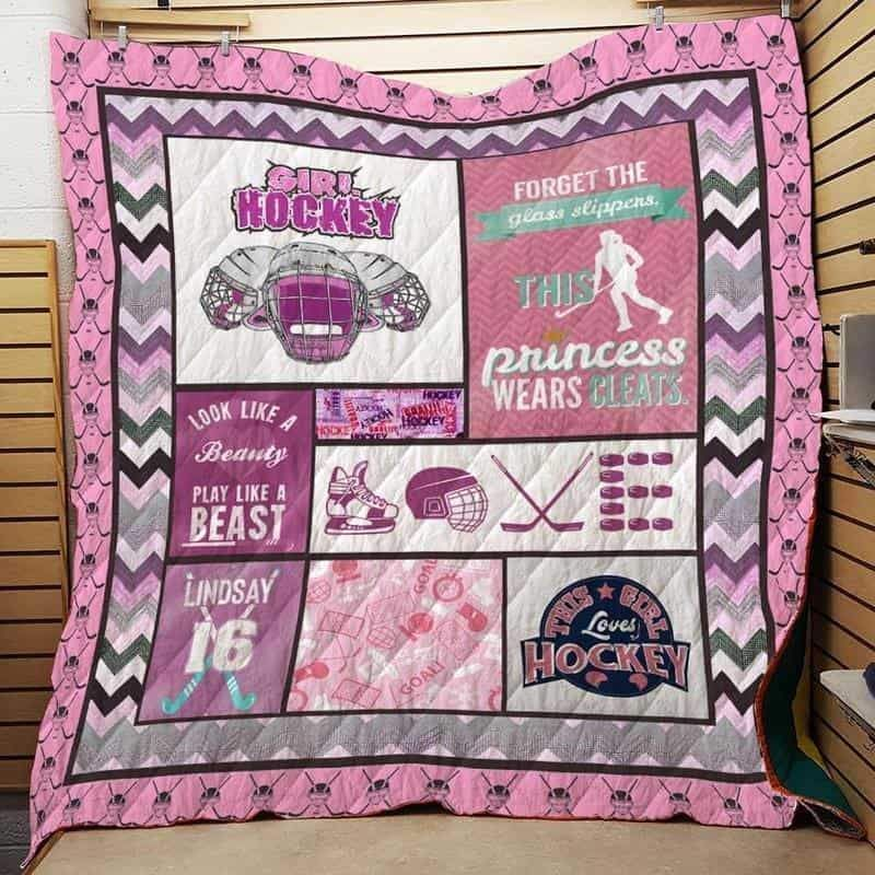 women hockey isor421 3d customized quilt 0