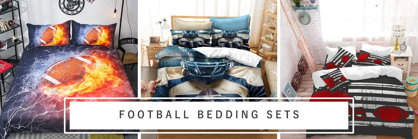 football bedding set Brightroomy